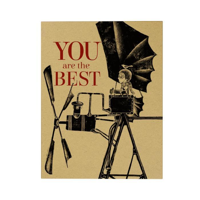 You Are the Best Greeting Card