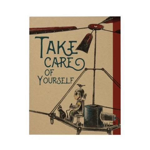 Take Care Greeting Card