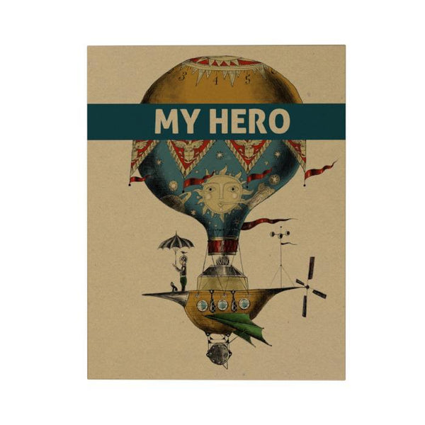 My Hero Greeting Card