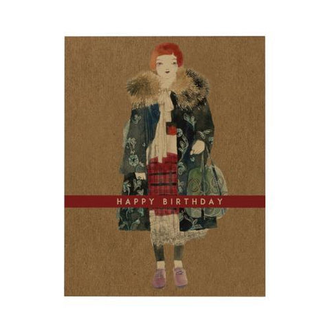 Happy Birthday Greeting Card: Sartorialist