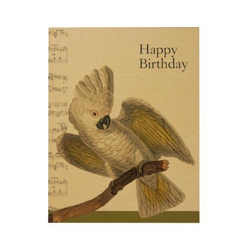 Happy Birthday Greeting Card: Cockatoo