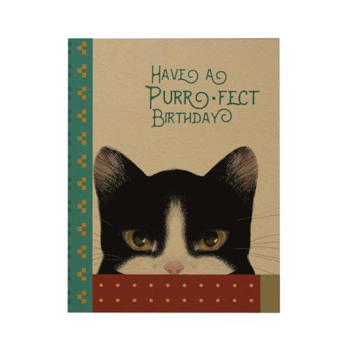 Have a Purr Fect Birthday Greeting Card