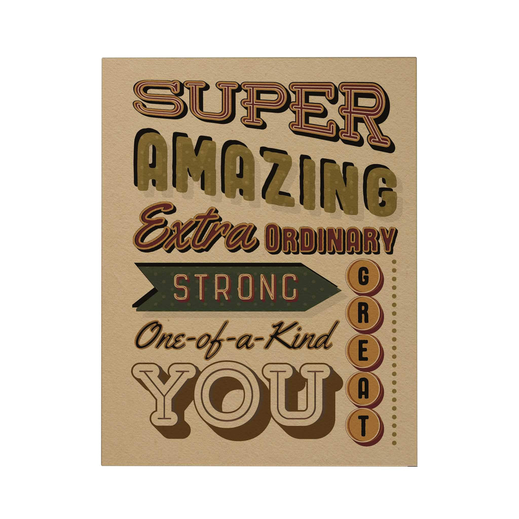 Super Amazing Greeting Card