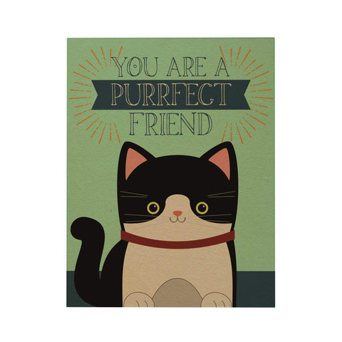 You Are a Purrfect Friend Greeting Card