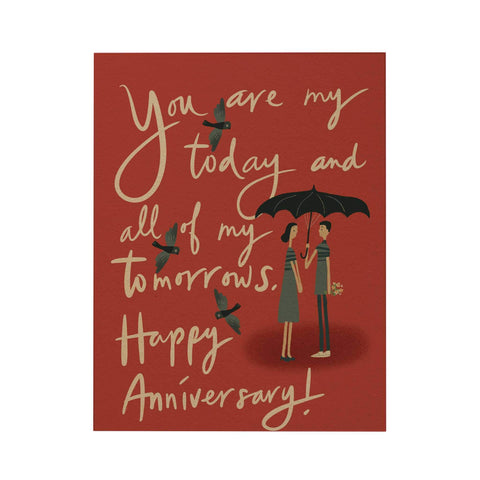 You Are My Today and All of My Tomorrows Greeting Card