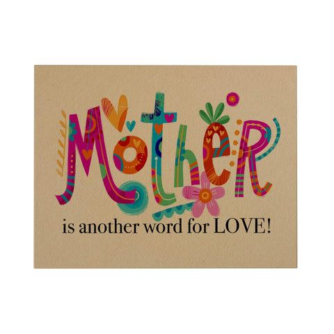 Mother Is Another Word Greeting Card