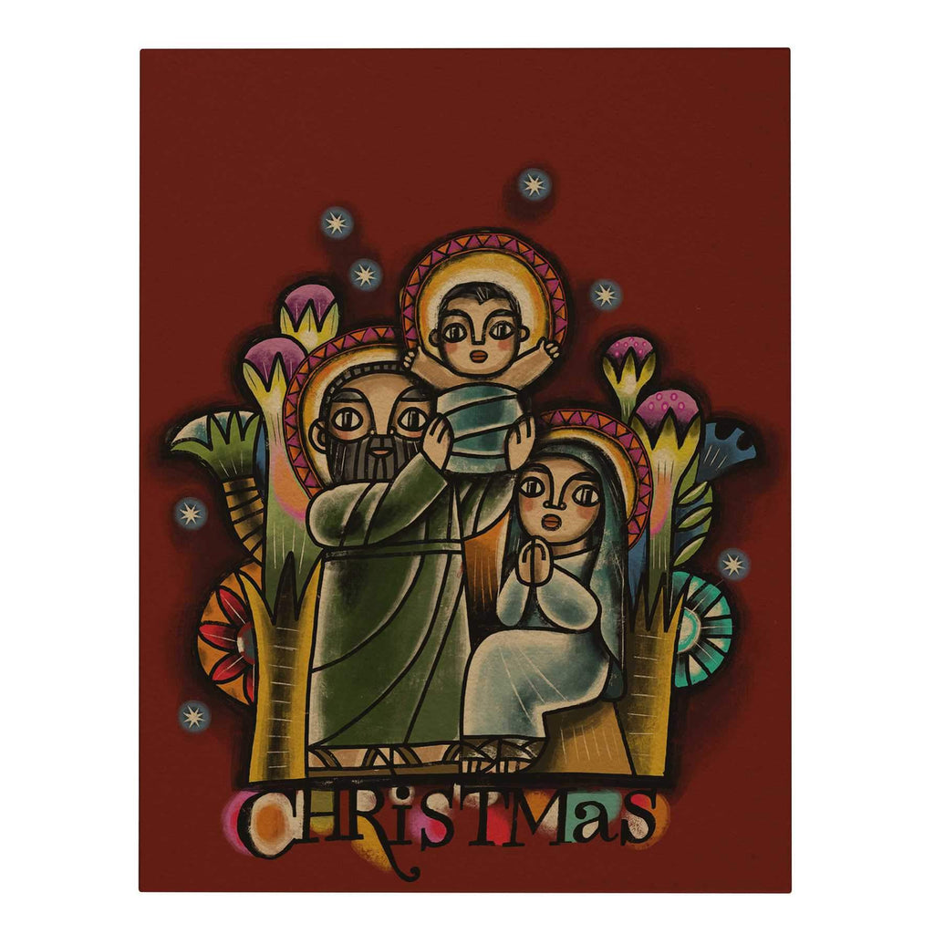 Holy Family Big Greeting Card
