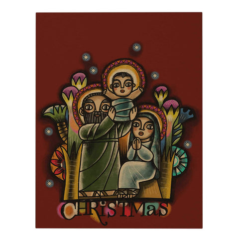 Holy Family Large Greeting Card