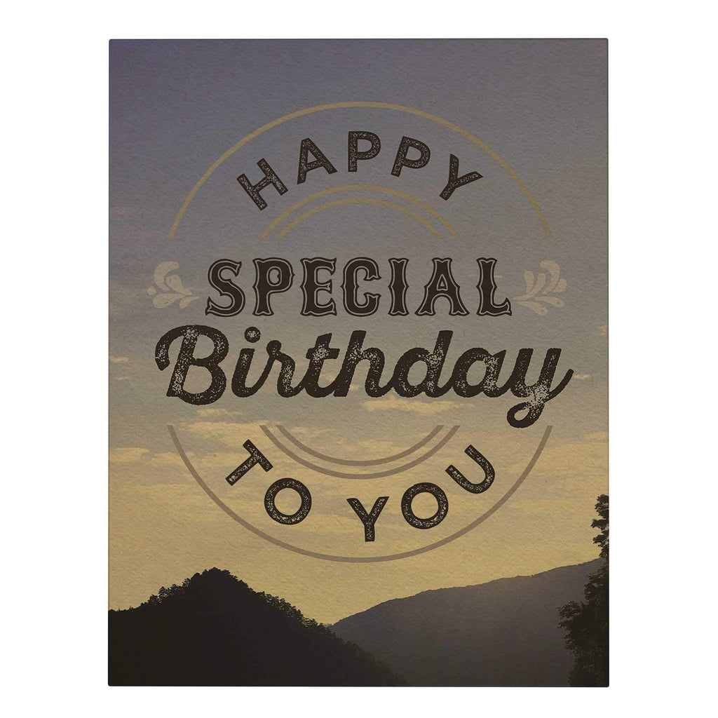 Special Birthday Big Greeting Card