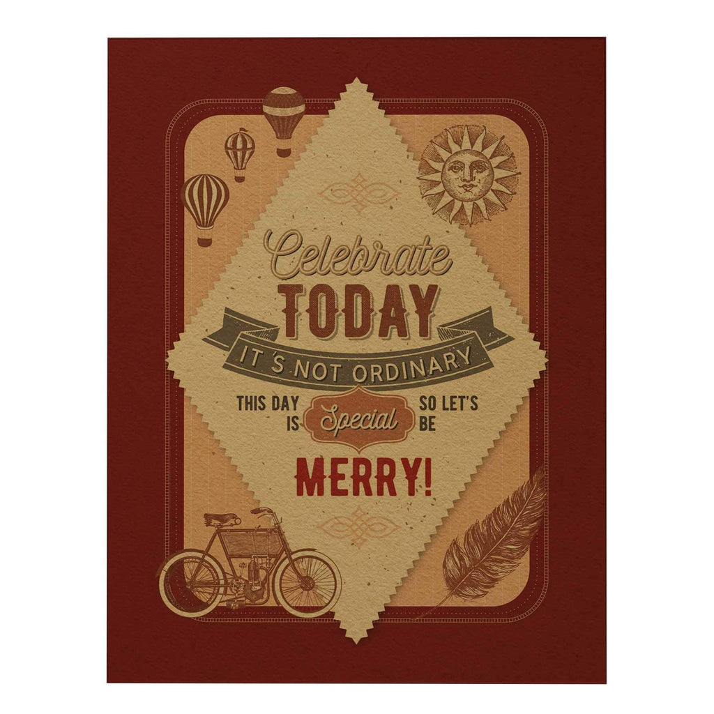 Celebrate Today Big Greeting Card