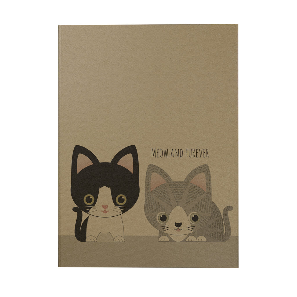 Meow and Furever Notebook