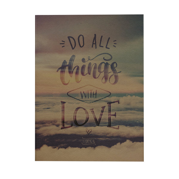 Do All Things Notebook