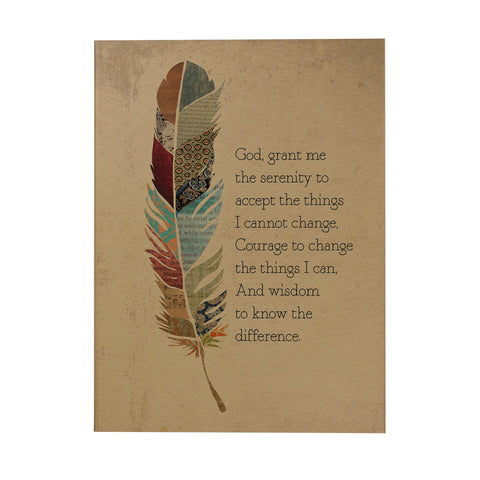 Serenity Prayer Notebook