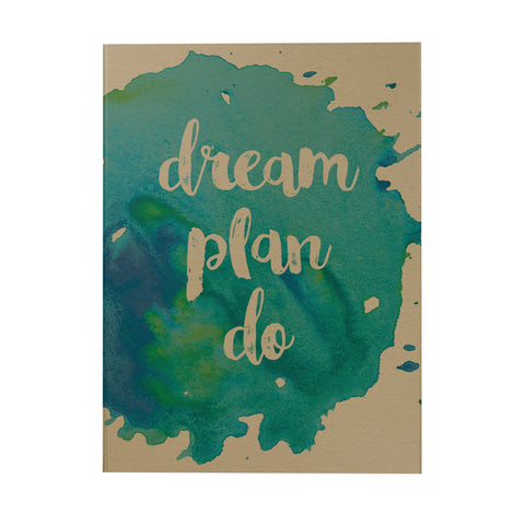 Dream Plan Do Notebook