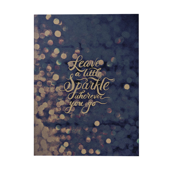 Leave a Little Sparkle Notebook