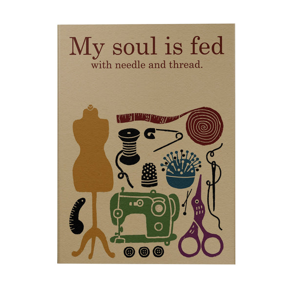 My Soul is Fed Notebook