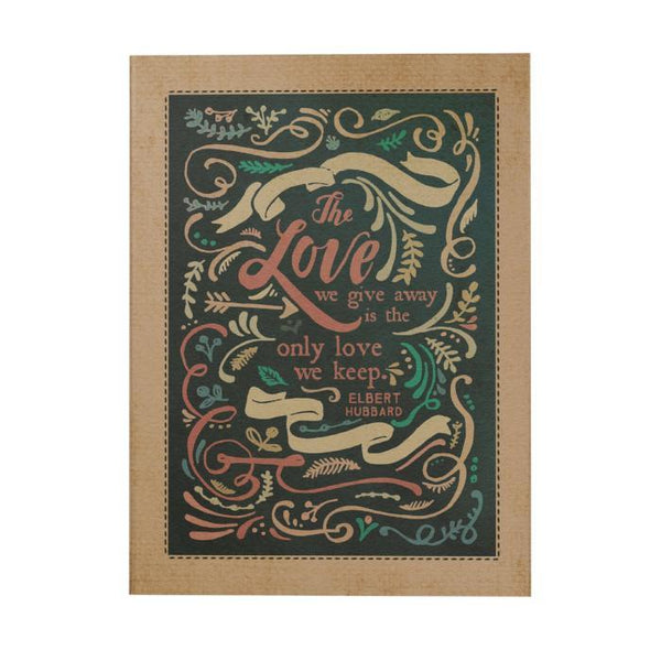 The Love We Give Away: Border