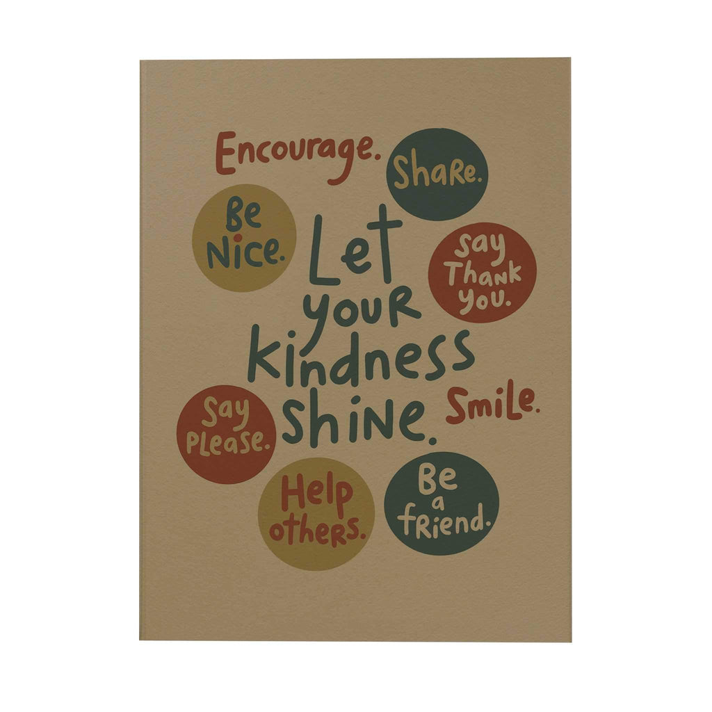 Let Your Kindness Shine Notebook