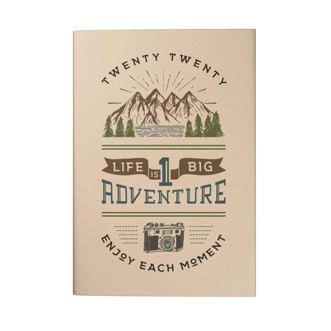 Life Is One Big Adventure Pocket Planner 2020