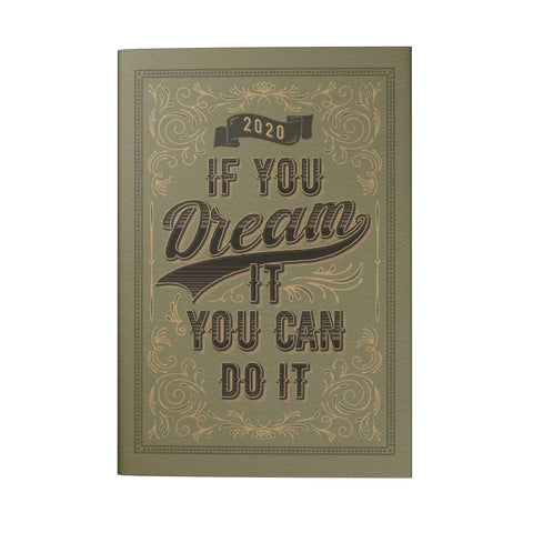 If You Dream It You Can Do It Pocket Planner (2020)