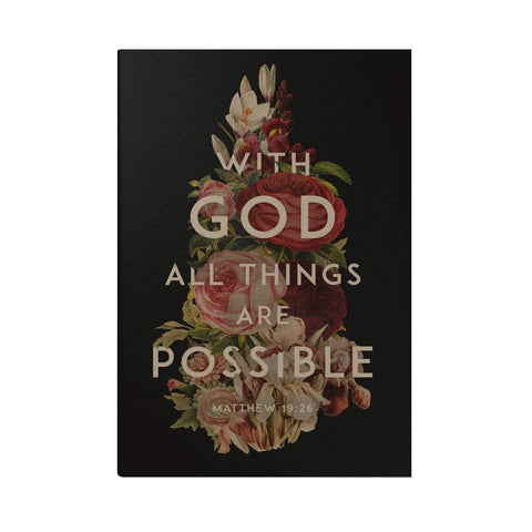 With God All Things Are Possible Pocket Planner (2020)