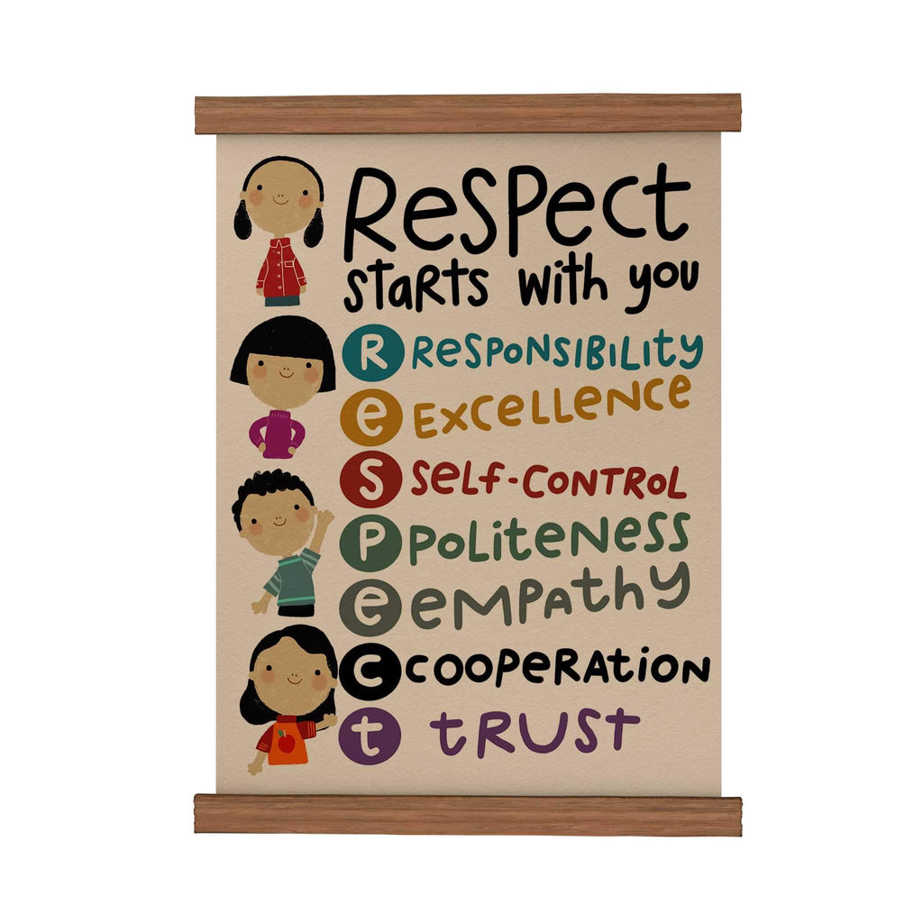 Respect Start with You Scroll