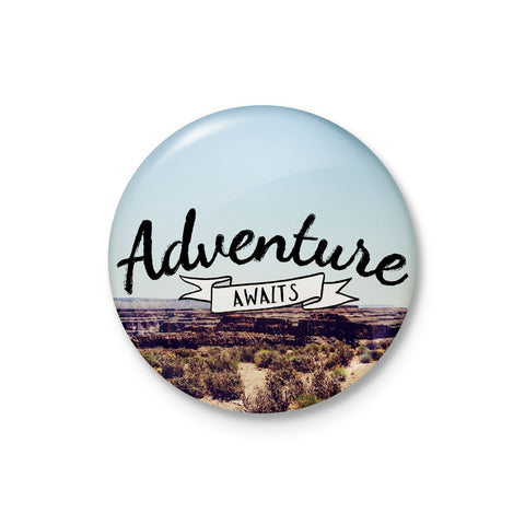 Adventure Awaits Badge