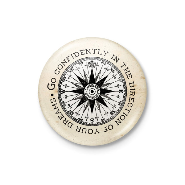 Go Confidently Badge: Compass