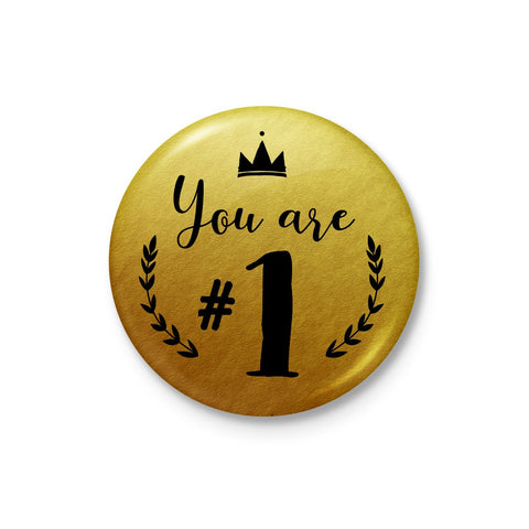 You are #1 Badge