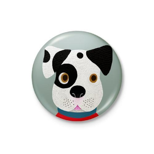 Kind Animal Dog Badge