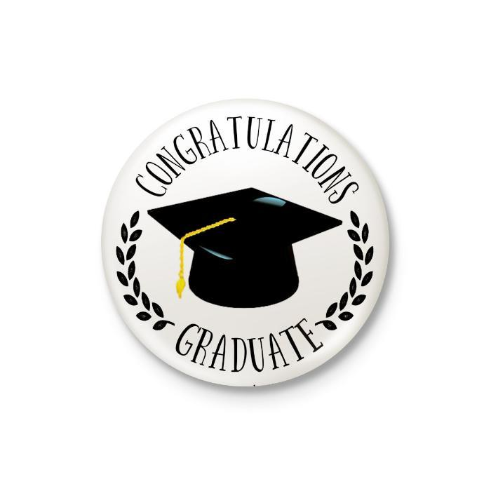 Congratulations Graduate Badge