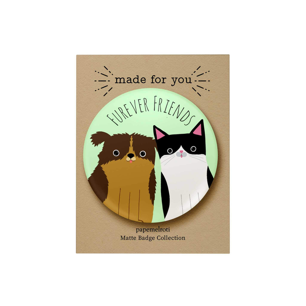 Furever Friends Badge