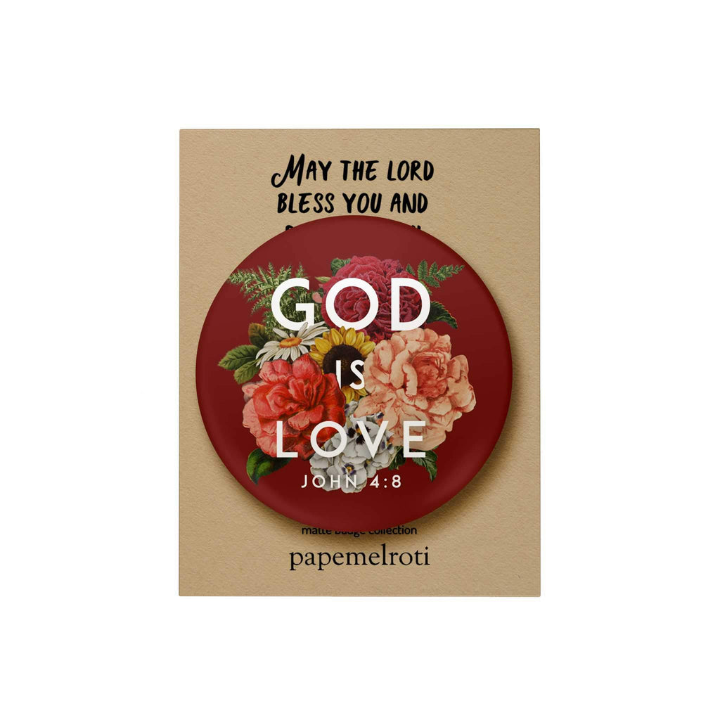 God Is Love Badge