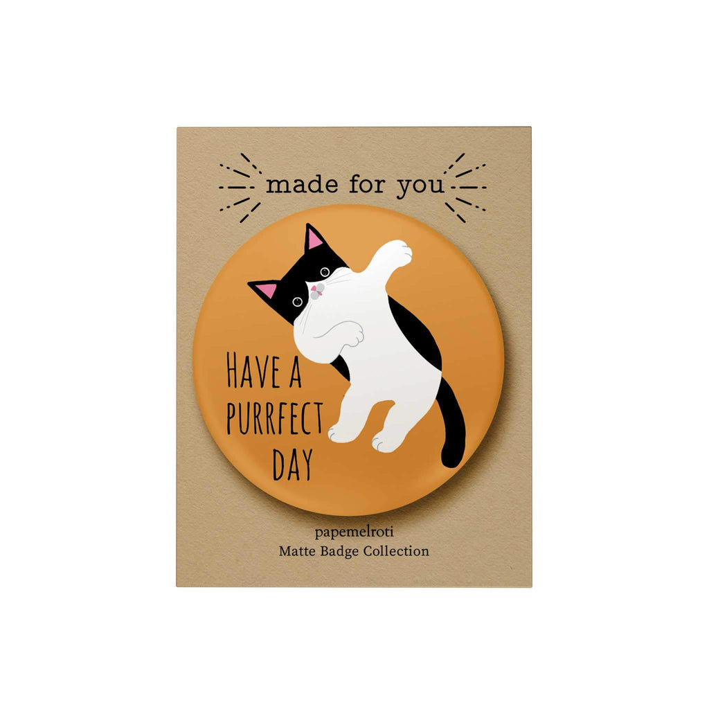 Have a Purrfect Day Badge