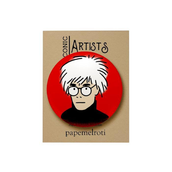 Iconic Artist Badge: Andy Warhol