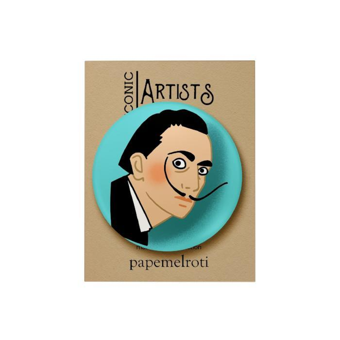 Iconic Artist Badge: Salvador Dali