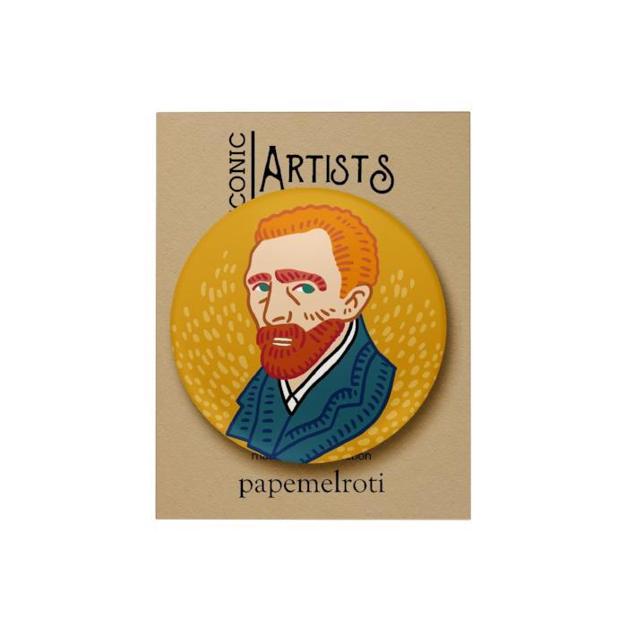 Iconic Artist Badge: Vincent Van Gogh