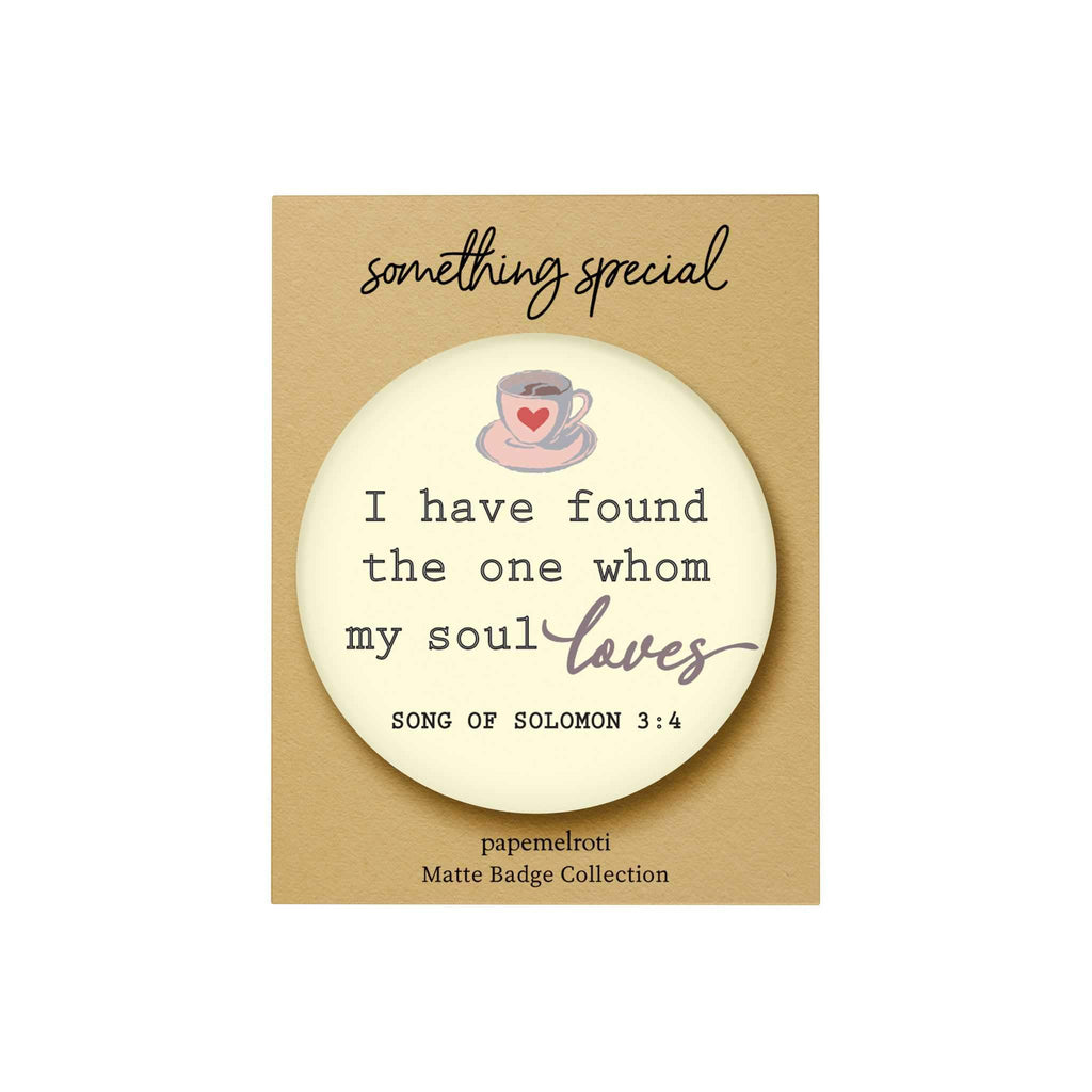 Words of Love Badge: I Have Found the One