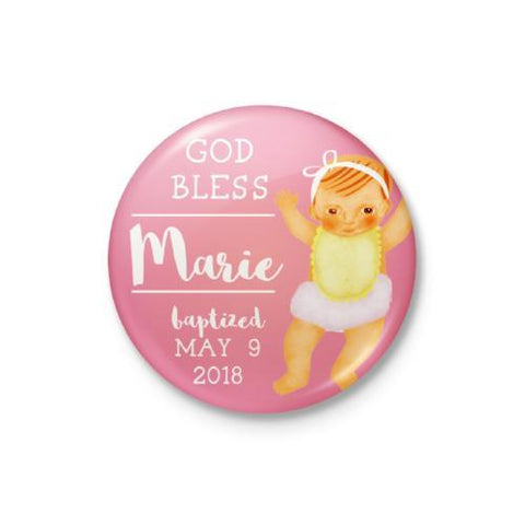 Beautiful Baby Personalized Badge
