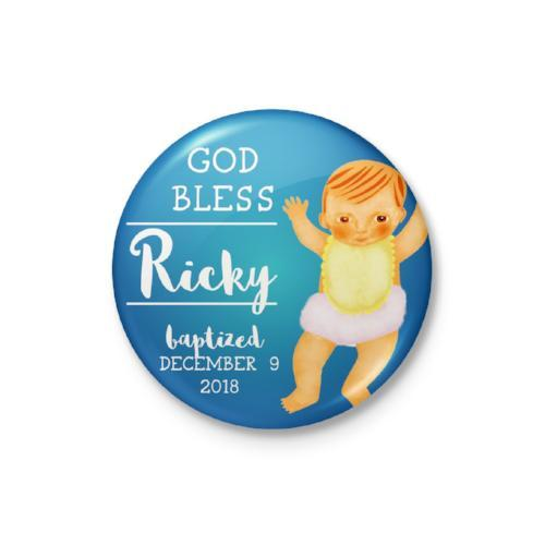 Handsome Baby Personalized Badge