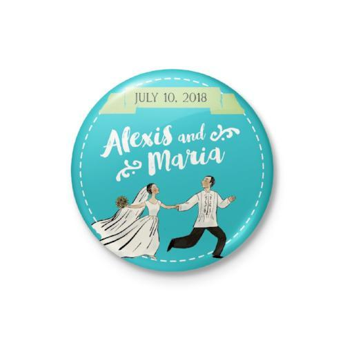Wedding Dance Personalized Magnet