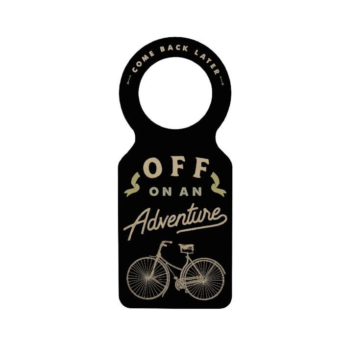 Off on an Adventure Doorknob Hanger