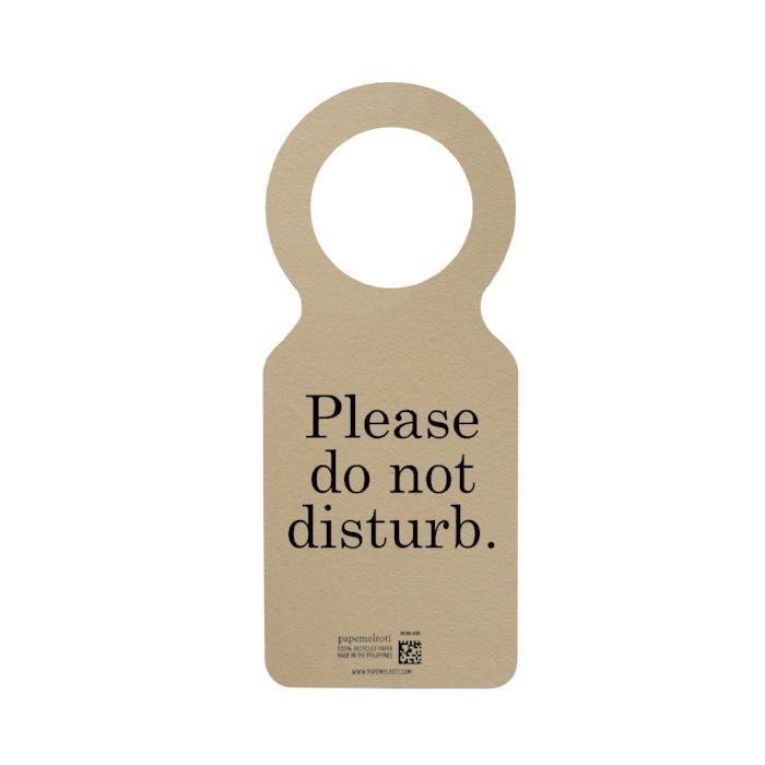 You Deserve Good Things Doorknob Hanger