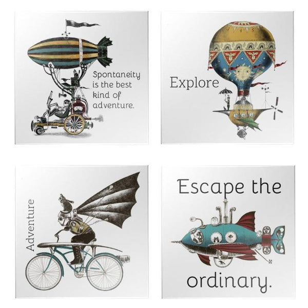 Steampunk Sticker Pack