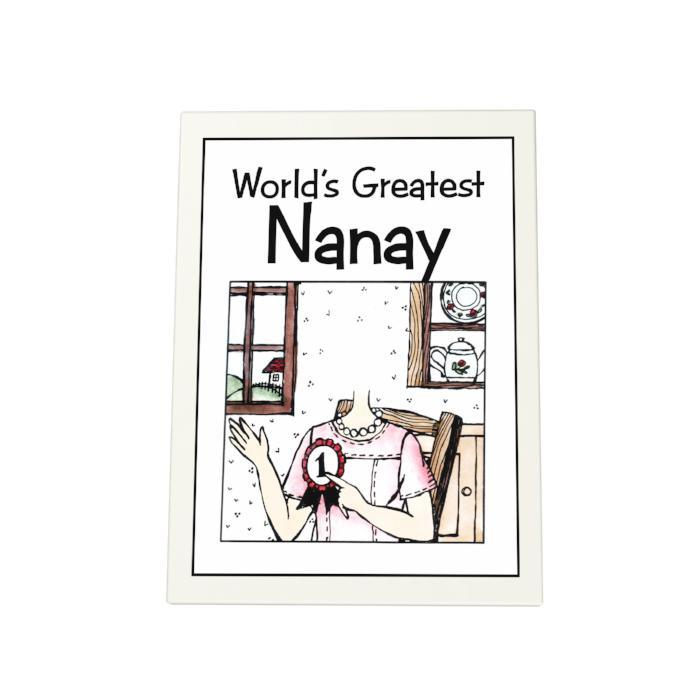 World's Greatest Nanay Photo Plaque