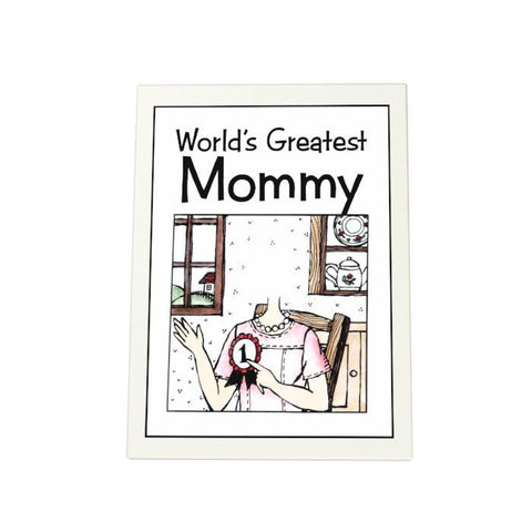 World's Greatest Mommy Photo Plaque