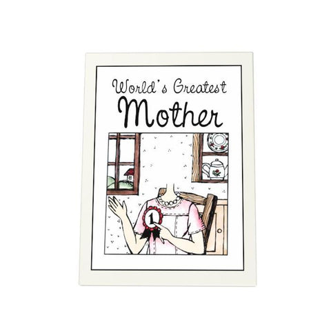 World's Greatest Mother Photo Plaque