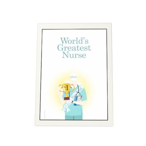 World's Greatest Nurse: Trophy Photo Plaque