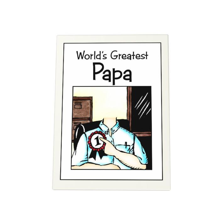World's Greatest Papa Photo Plaque