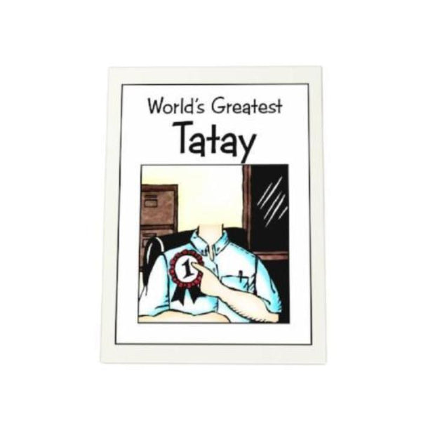 World's Greatest Tatay Photo Plaque